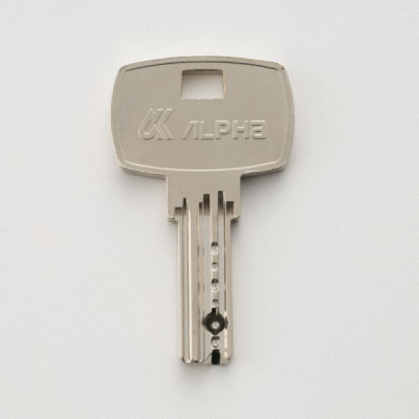 画像1: アルファディンプルシリンダー用合鍵 (1)
