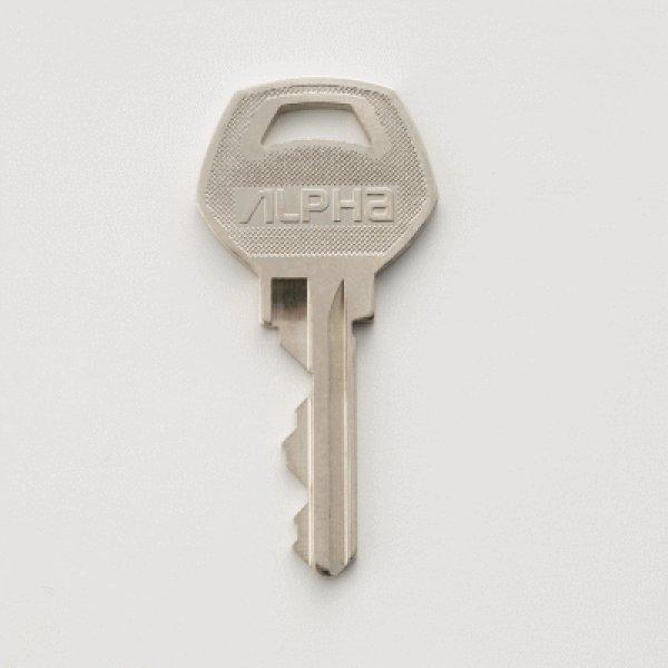 画像1: アルファ6本ピンシリンダー用合鍵 (1)