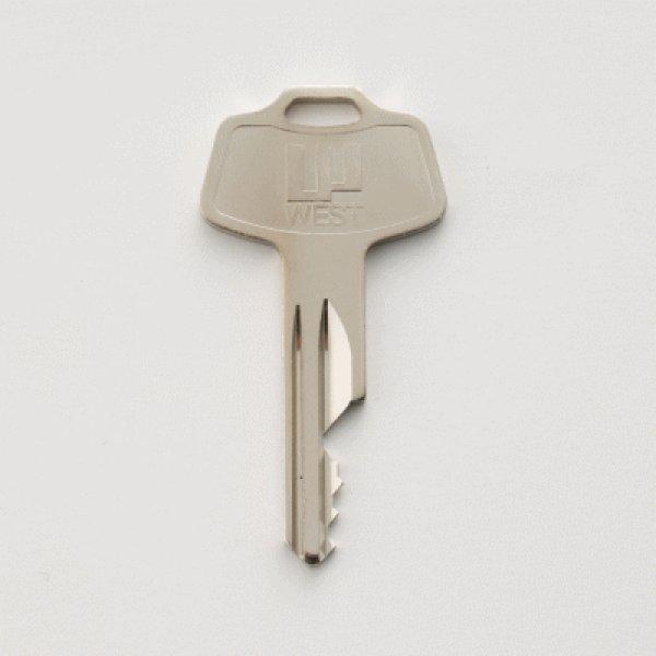 画像1: ウエストピンシリンダー用合鍵 (1)